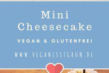 Veganer, glutenfreier Nachtisch