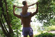 Crouch Kids | Crouchitos / Matching swimwear for dad and son