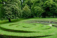 Kul trädgård