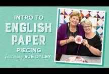 paper pieces  quilts