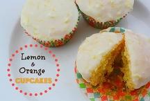 lemon and orange cupcakes / by carol lewis
