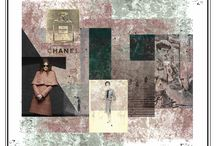 fashion collages / poster illsutrativi- graphic art fashion