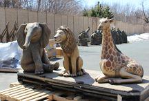 Animals in the Playground