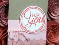Stampin' Up! Tag ideas