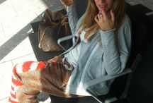 Travel in style / Photos of dear friends & people I follow & celebs & anonymous…in the airport.