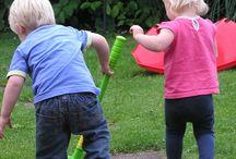 back yard fun!