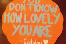 Coldplay ❤️ / by Trina Pauly