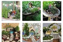 tiny fairy garden houses