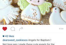 Sablés décorés ange