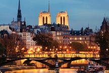 Travel paris in winter