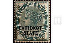 British India - Convention State  - Stamps of Faridkot / Stamps of Faridkot of British India - Convention State
