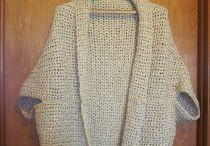 shrug crochet shape / Tejidos