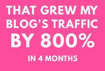 Tips To Grow Blog Traffic / Learn how to grow traffic to your website or blog, whether you're a newbie or a seasoned blogger.