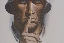 POSTER WW2 BY GERMANS