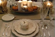 Thanksgiving / Tablescapes