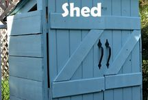 Build a shed for $30 dollars / by Sherri Truett