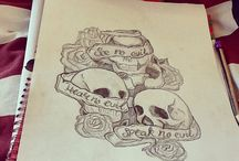 Tattoo drawings / Art