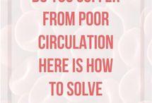 poor curculation