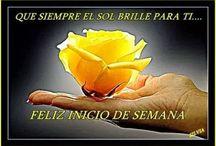 Imagenes y Frases Feliz Día / Imagenes y frases para desear un feliz dia, semana, noche.