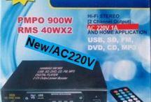 Rakitan USB MP3 FM Player HI-FI Amplifier 220V