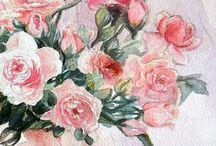 acquerelli | watercolour / raccolta dei miei acquerelli | my watercolor #art #watercolour #acquerelli