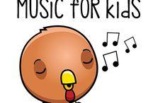 kids music / by Susie Howard