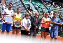 Finale du double mixte 2014 / Victoire de la paire Anna-Lena Groenefeld / Jean-Julien Rojer face à Julia Goerges / Nenad Zimonjic