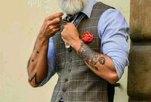 Fashion with an edge- for the mature man