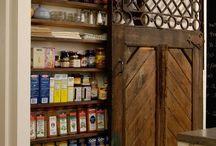 kitchen  cupboards doors bookshelves