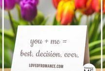 romance words