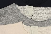 Raw edges sweater