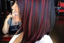 Pewarna rambut merah