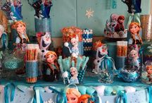 Frozen party / by Lora Dobay
