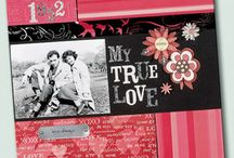 Scrapbook Pages and Project Ideas / Scrapbook Layouts and Scrapbooking Ideas and Projects / by Craftdrawer Crafts