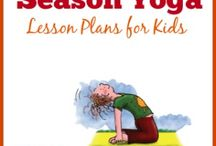 Yoga lesson plans for kids