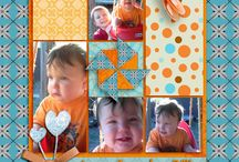 Scrapbook layouts  / by Betty Burke