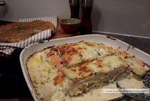 Vis lasagne