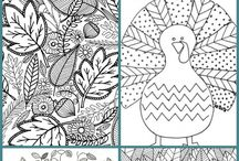 COLORING PAGES / Adult and children's coloring pages. A collection of free printable coloring pages.