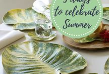 Celebrate Summer / During the month of June, we want to inspire you to take time to enjoy these longer days spent with friends and family, travel and adventures, and outdoor entertaining.