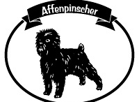 Affenpinscher Signs and Pictures / Warning and Caution Affenpinscher Dog Signs https://signswithanattitude.com/affenpinscher-signs.html