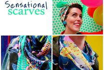 Sensational Scarves / Gorgeous printed scarves and interesting ways to wear them. Scarf style ideas and inspiration.