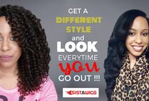 Hairstyles / Get beautiful Hairstyles by buying Brazilian Hair and various Braids for Girls from Sistawigs. visit: http://www.sistawigs.com/