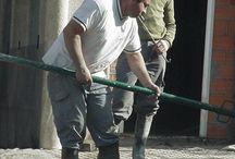Maestros / Fotos recopiladas de maestros de obra trabajando.