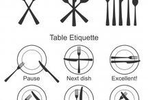 Dining Ettiquette