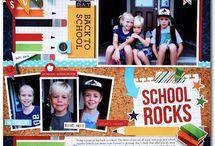 Scrapbooking~School / by Amy Grohs Vandiver