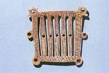 Medieval textile tools