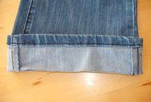 ourlet de pantalon