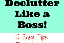 Decluttering