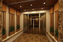 bina girişi