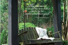 Porches We Love / by Southern Lady Magazine - Southern Decor, Recipes, Home Inspiration